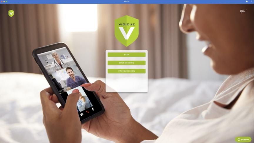 Vidicue - Säkra digitala videomöten