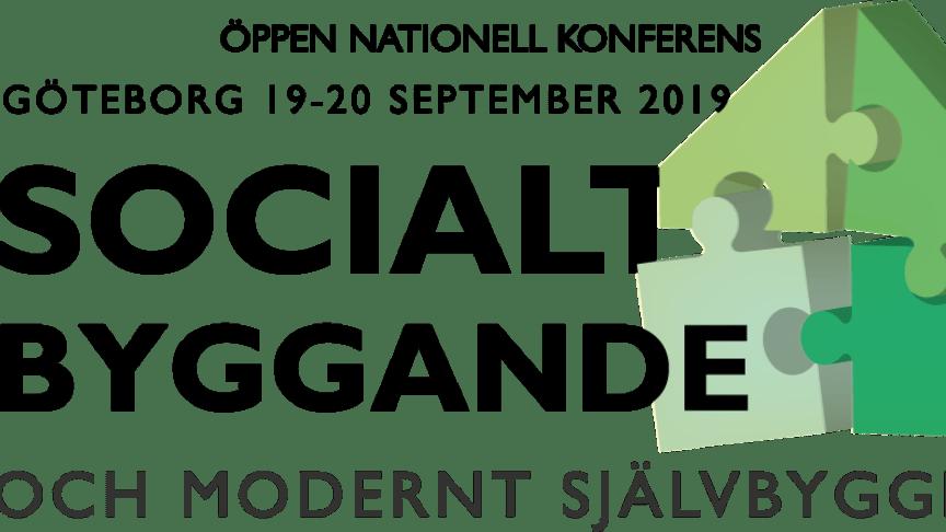 Nationell konferens om socialt byggande och modernt självbyggeri