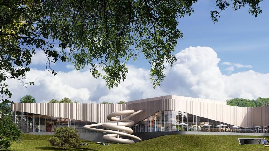 Så kommer den nya simhallen i Linköping se ut