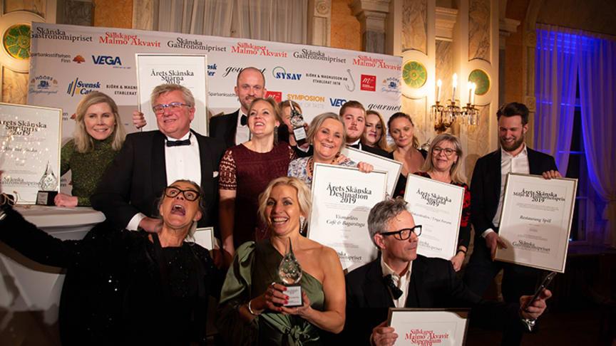 Vinnarna i Skånska Gastronomipriset 2019