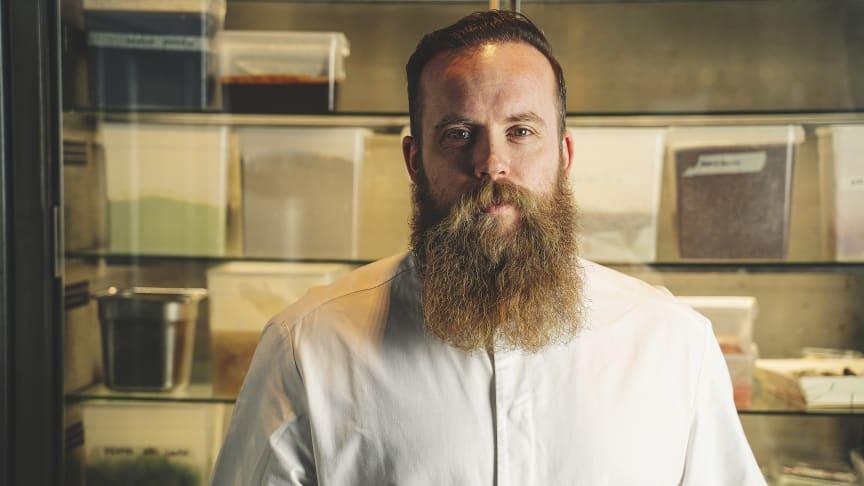 Darren John, köksmästare på Restaurang TAK