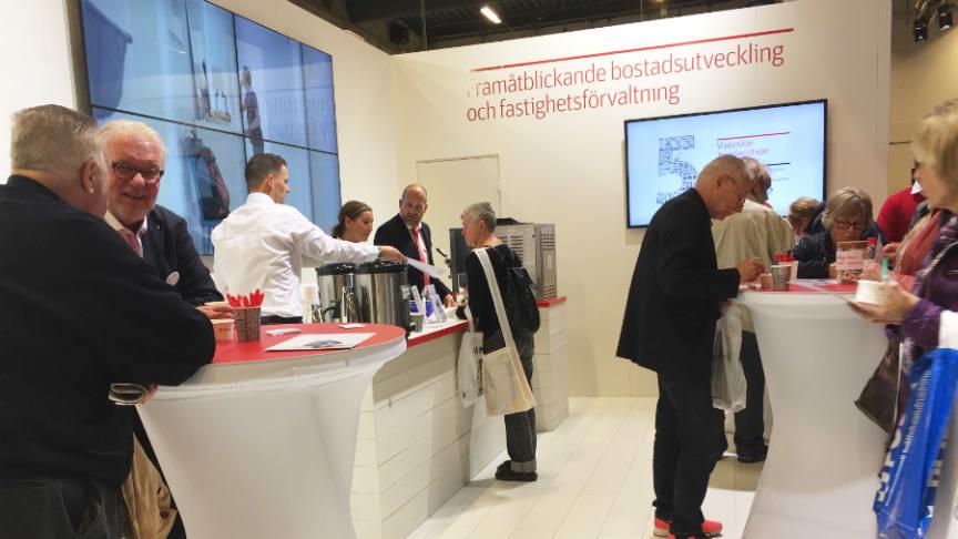 Träffa Riksbyggen på Sveriges största mötesplats för bostadsrättsföreningar