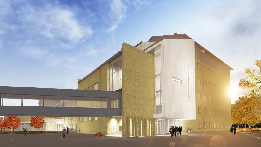 Pressinbjudan: Spaden i backen för nytt Medicinskt Biologiskt Centrum i Umeå