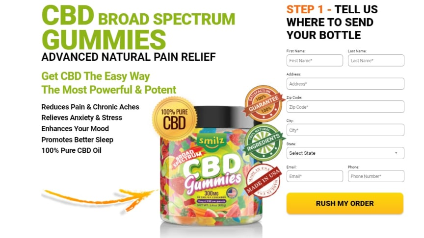Smilz CBD Gummies and David Suzuki Hemp Gummies Canada reviews – Safe Or Scam?! Read Benefits, Price, Side Effects And Warnings?