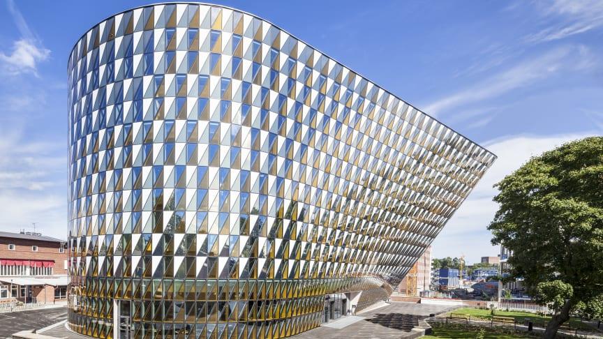 Akademiska Hus Aula Medica utsedd till Årets bygge 2014