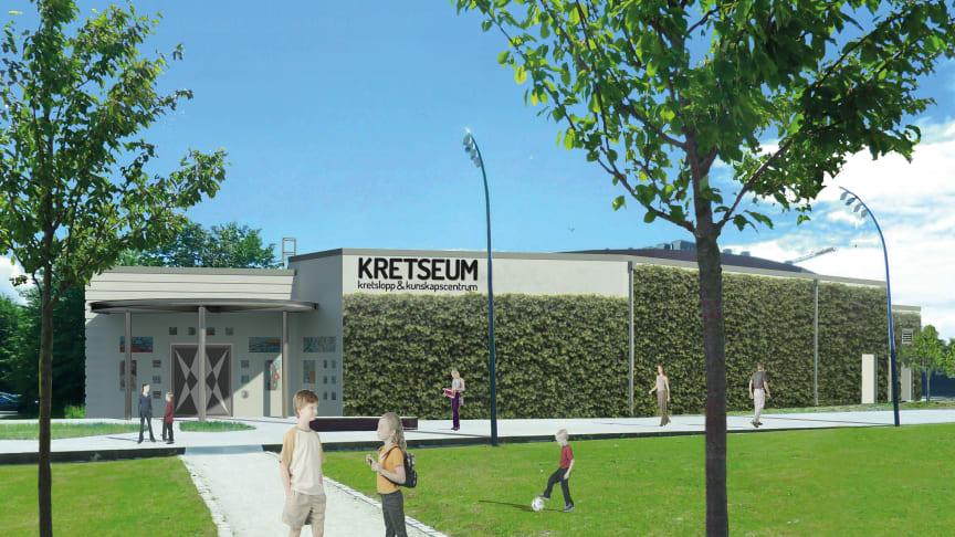 Nu inviger vi Kretseum, vårt nya kunskapcentrum i Hyllie