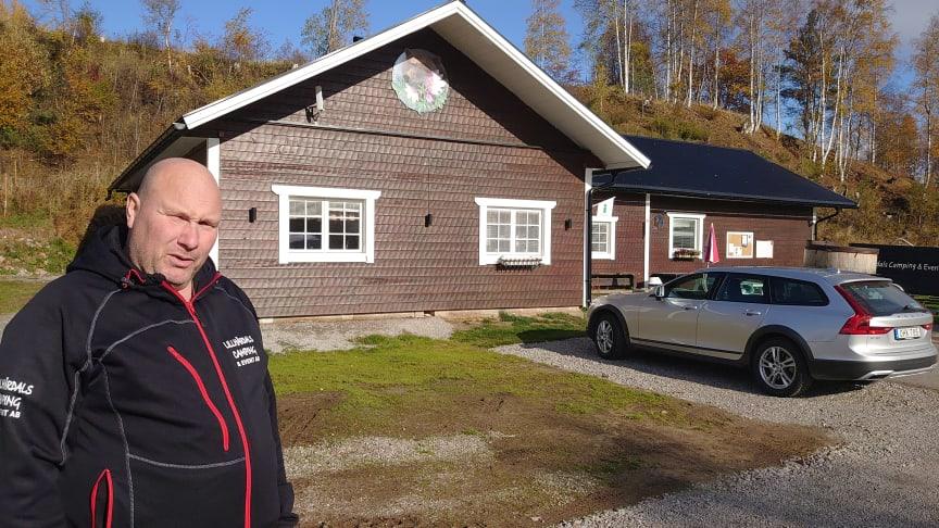 Hasse Forsman, Lillhärdals camping