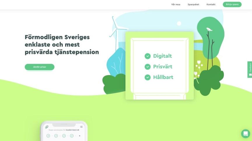 Digitala pensioner på ett hållbart sätt