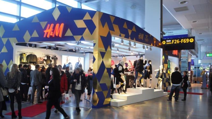 Airport City Stockholm välkomnar H&M i ny kostym på Arlanda