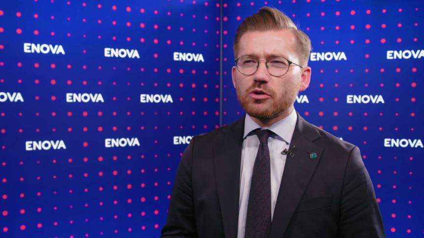 Klima- og miljøminister Sveinung Rotevatn om landstrøm