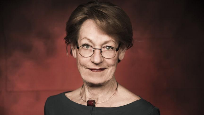 Gudrun Schyman håller valmöten i Skåne och Halland i morgon. Foto: Elisabeth Ohlson Wallin