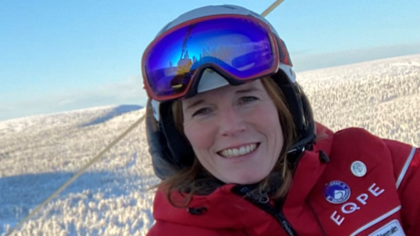Marie Stenmalm, manager of SkiStar's ski school in Sälen