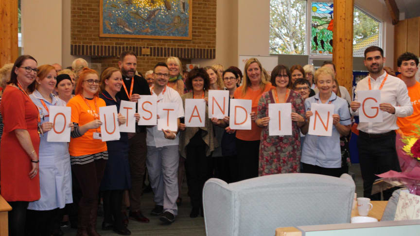 Kent charity ellenor rated 'Outstanding' by the Care Quality Commission (CQC)