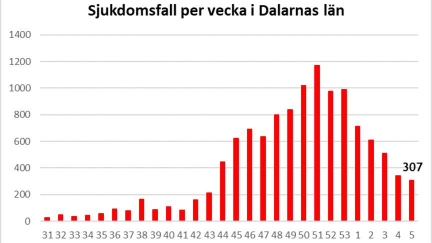 Länsstyrelsen informerar om läget i Dalarnas län 12 februari 2021