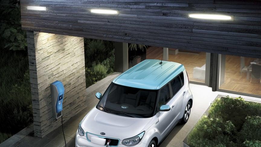 Ny forbedret KIA Soul EV kører nu 250 km på en opladning