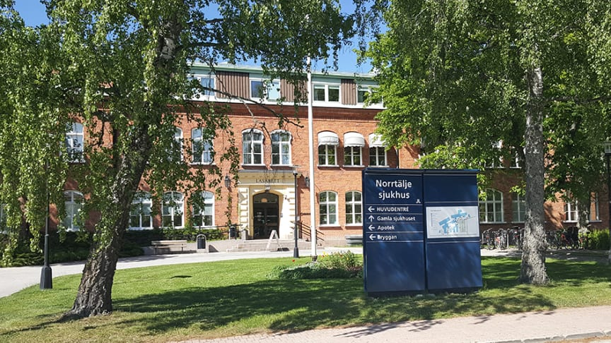 Pressträff om läget i sjukvården och kommunen inför semesterperioden