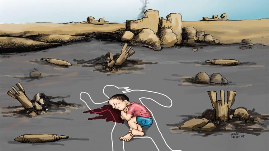 Barn och krig - ny utställning på EWK-museet