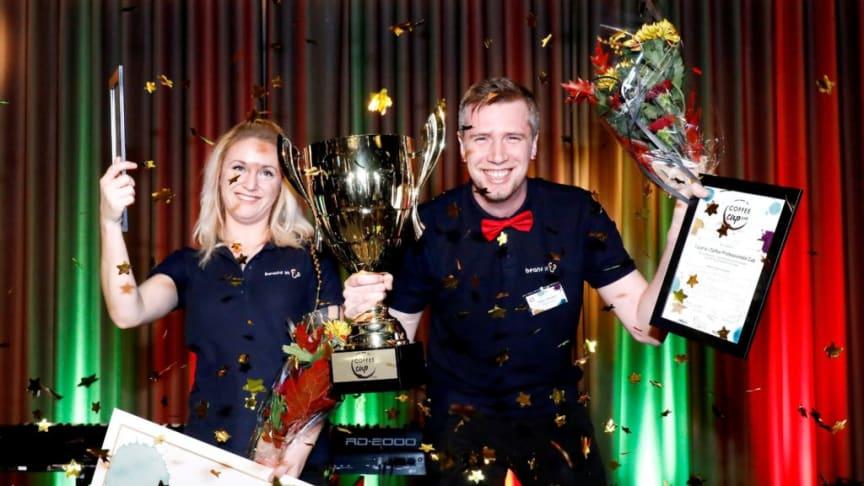 Vinst i årets Coffee Professionals Cup!