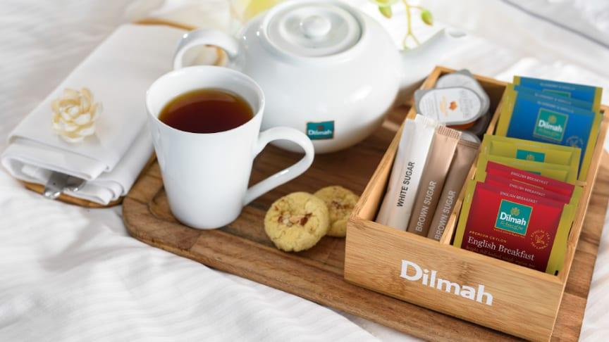 Dilmah Classic English Breakfast och Blåbär Vanilj.