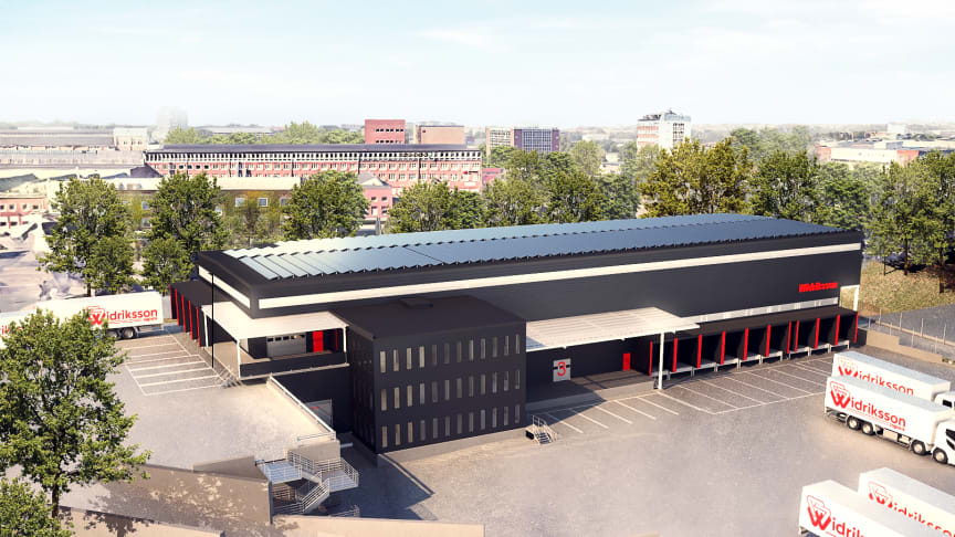 Widriksson planerar att fördubbla terminalytan i Västberga.