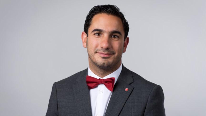 Civilminister Ardalan Shekarabi (S) är en av talarna på DigiGov.
