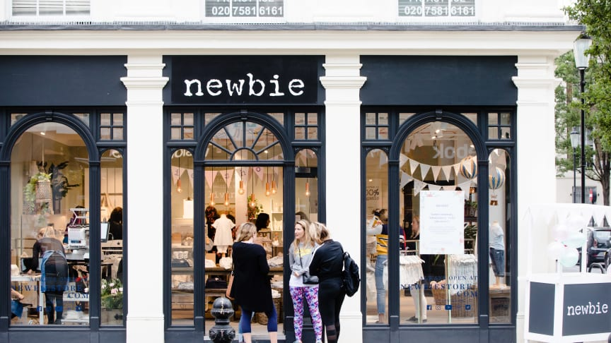 Elodie Details are now a part of the new Newbie store on 110-112 Kings Road in Chelsea.