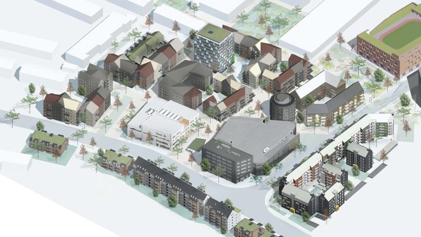 Selma stad, Hisings Backa - en stadsdel under omvandling - totalt ca 1000 nya bostäder