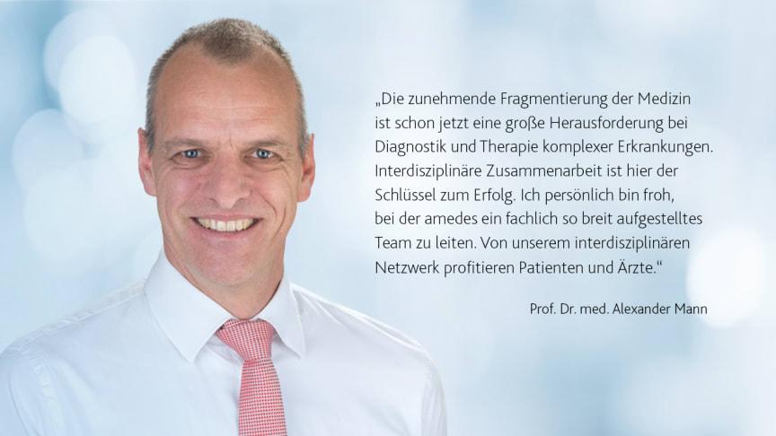 Prof. Alexander Mann im änd-Interview zur interdisziplinären Zusammenarbeit beim PCO-Syndrom