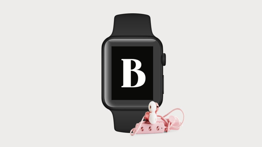 Nu kan du lyssna på ljudböcker via din BookBeat-app i Apple Watch