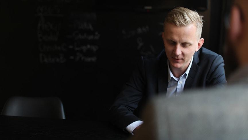 Linus Lindström, vd Xenit.