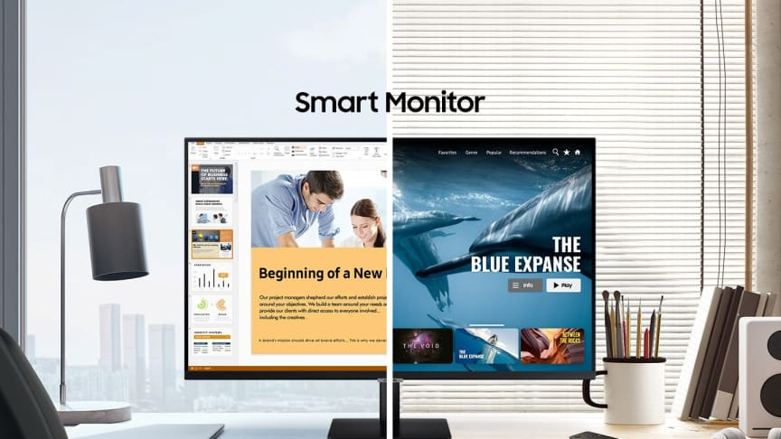 Samsung Smart Monitor M7 & M5