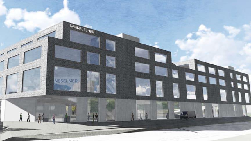 RøhneSelmer overtar alt Ford-salget i Stor-Oslo - 3 FordStores inklusive nytt mobilitetssenter
