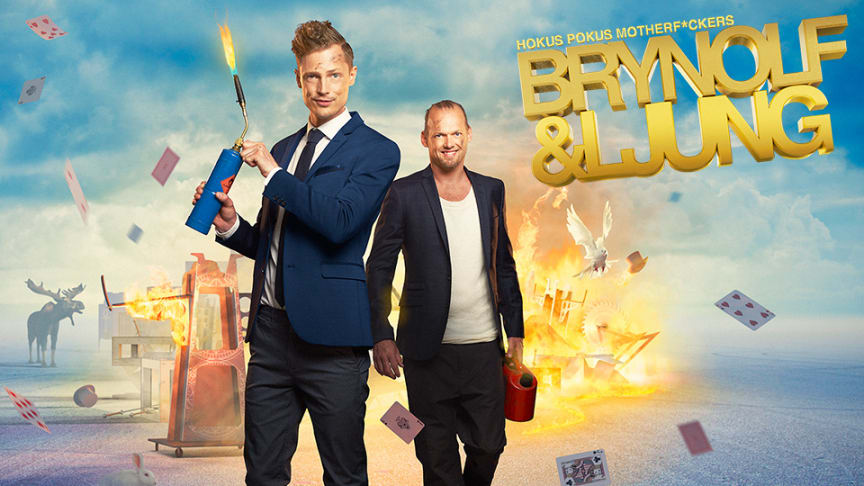 Högtryck på Brynolf & Ljungs Sverigeturné - nu släpps extraföreställningar!