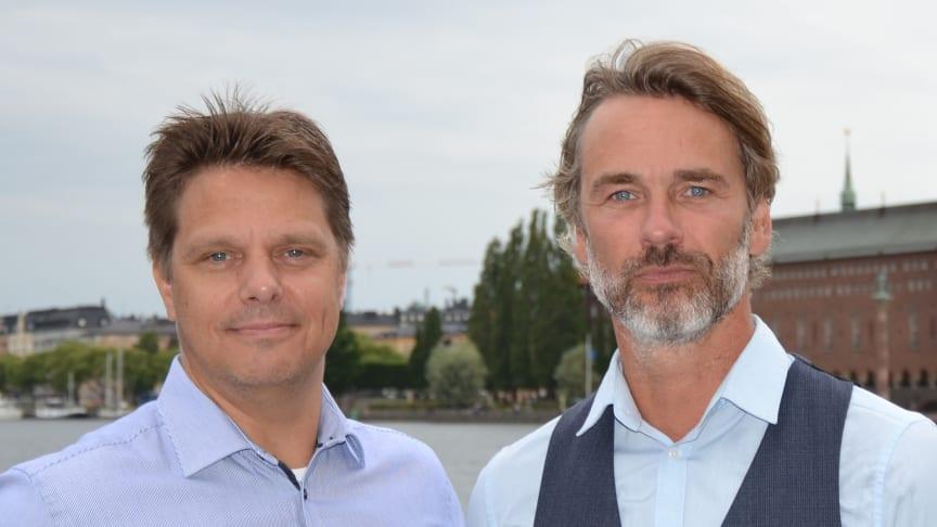 Per Österborg och Johan Rydell, avtalsansvariga på Avarn Security.