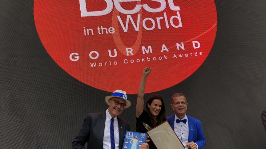 Blå kokboken - Gourmand World Cookbook Awards