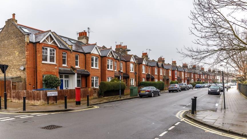 A typical suburban street