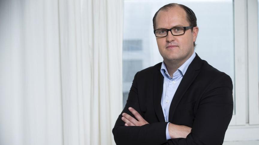 Erik Elmgren, förhandlingschef på Hyresgästföreningen