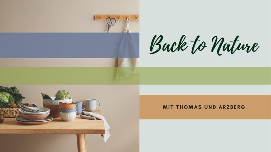 Die neuen Thomas Clay Farben bringen Naturverbundenheit auf den Tisch.
