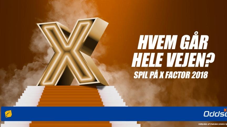 Danske Spil: Oliver eller Anne Mette og Tomas ryger ud af X Factor