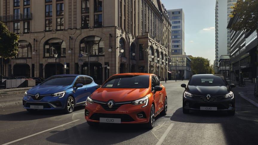 Den nye Clio skal være med til at holde momentrum for Renault og sælges fra uge 40 i Danmark