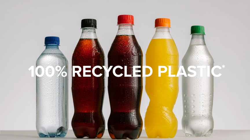 100 % Recycled Plastic*
