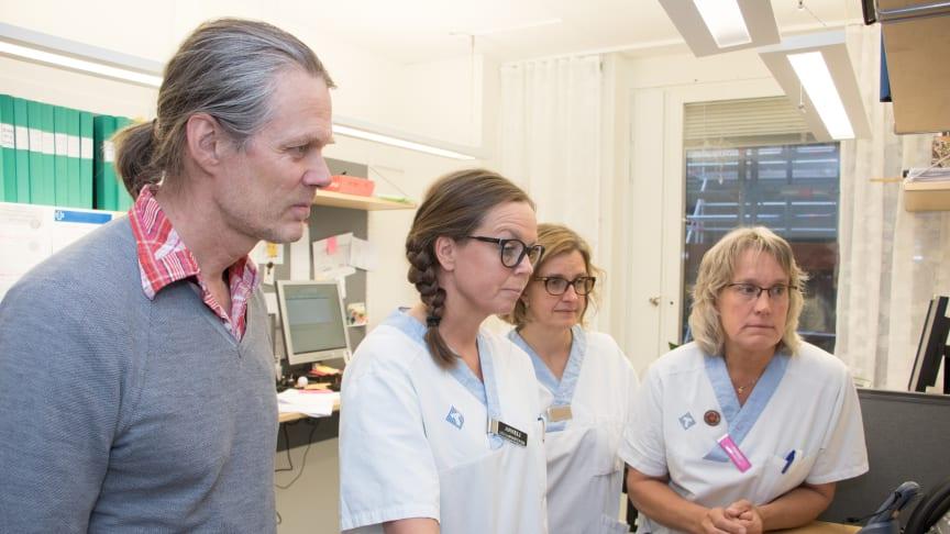 Peter Sundström, Anneli Sundström, Maja-lena Stålnacke och Carina Olofsson är en förutsättning för att verksamheten fungerar.