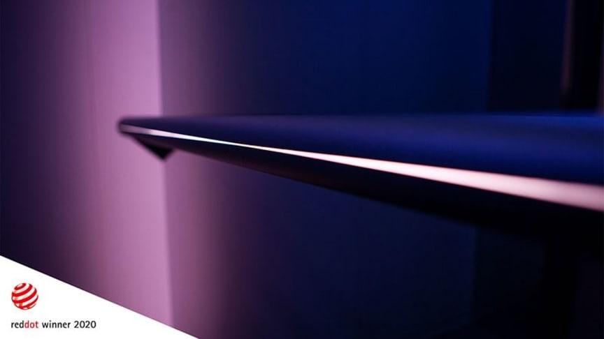 KONE DX, vinnare av fyra prestigefyllda priser i Red Dot Design Awards