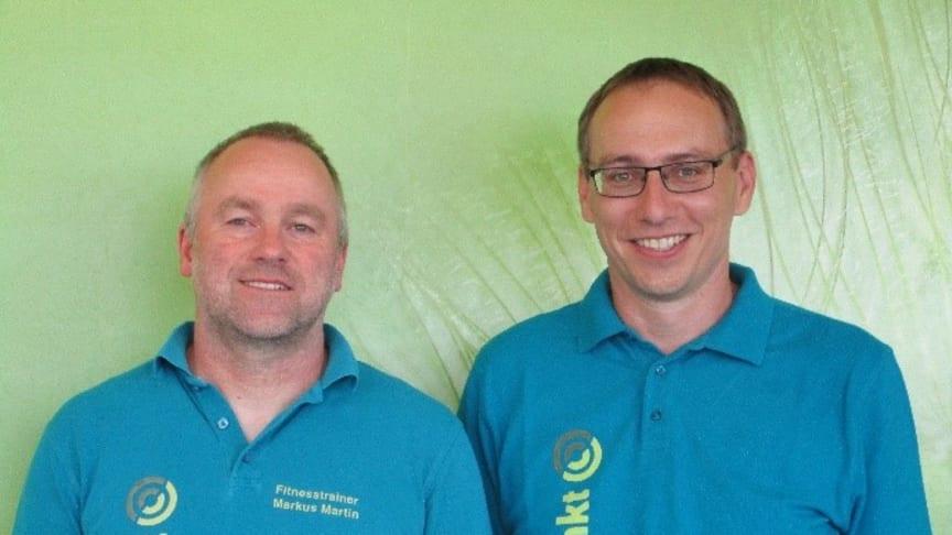 Inhaber des FPZ Rückenzentrums Meßstetten: Markus Martin (links) und Volker Beck (rechts)