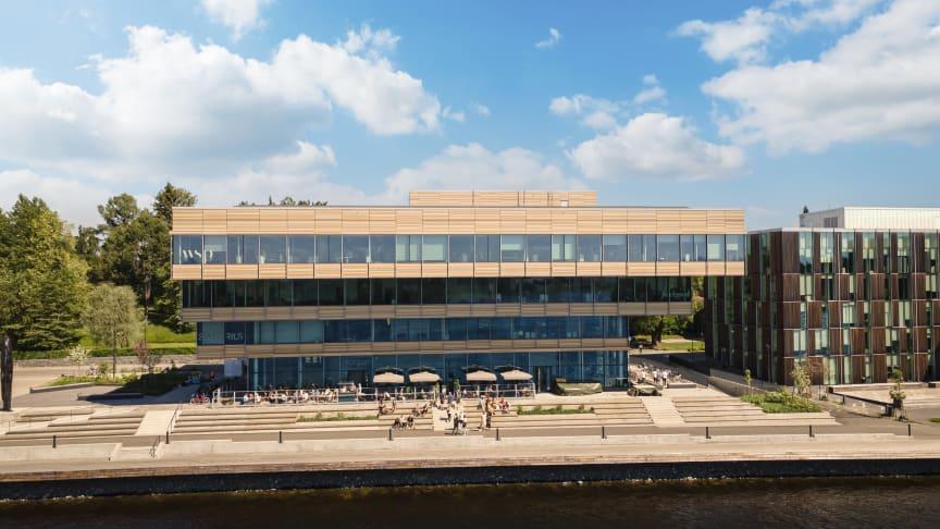 Balticgruppens kontorshus på Östra Strandgatan 24 i Umeå. Fotograf: Sebastian Sahin.