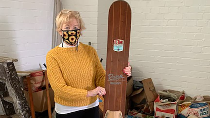 Stranger Things: Barbara Mine, Chair of the Friends of Bishopstone Station, sifts through the peculiar parcel office hoard