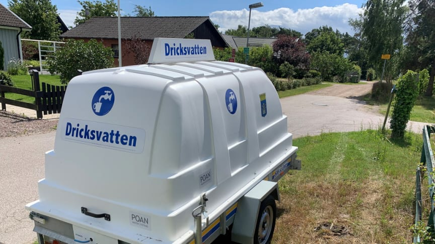 Plan för nödvatten tryggar Trelleborgs vattenförsörjning vid kris