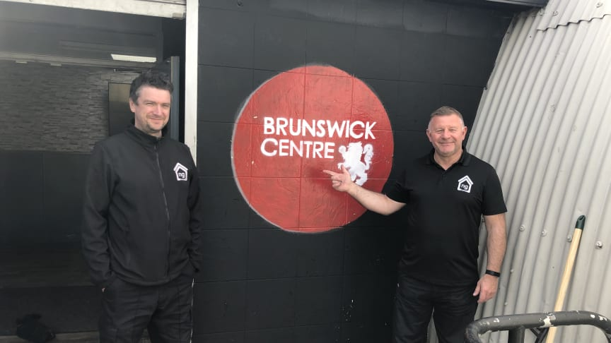 ng homes staff Dom and Ronnie deliver essential donations and supplies to the Brunswick Centre in North Glasgow who are one of many partners ng homes is supporting during these unprecedented times