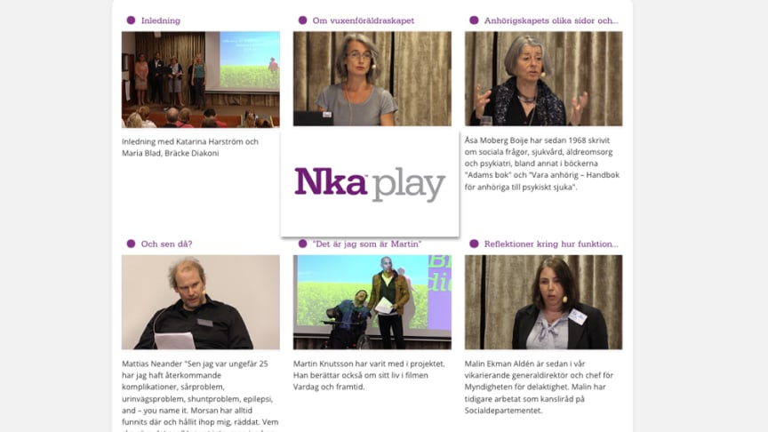 Slutkonferens i projekt Delaktighet och stöd