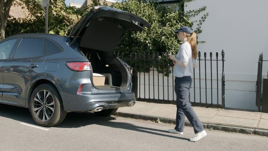 Starter prosjekt med hjemlevering av pakker - direkte til din bil